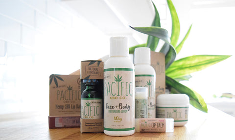 Pacific CBD Co Product Collection