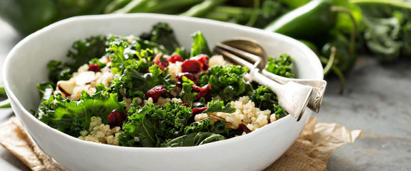 Couscous, Kale, and Cranberry Salad