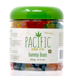 Pacific CBD Co - 500mg CBD Gummy Bears Pacific CBD Co - 500mg CBD Gummy Bears www-pacificcbdco-com.myshopify.com www.pacificcbdco.com