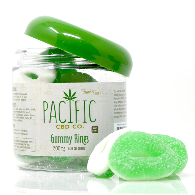 Pacific CBD Co - 500mg CBD Gummy Rings Pacific CBD Co - 500mg CBD Gummy Rings www-pacificcbdco-com.myshopify.com www.pacificcbdco.com