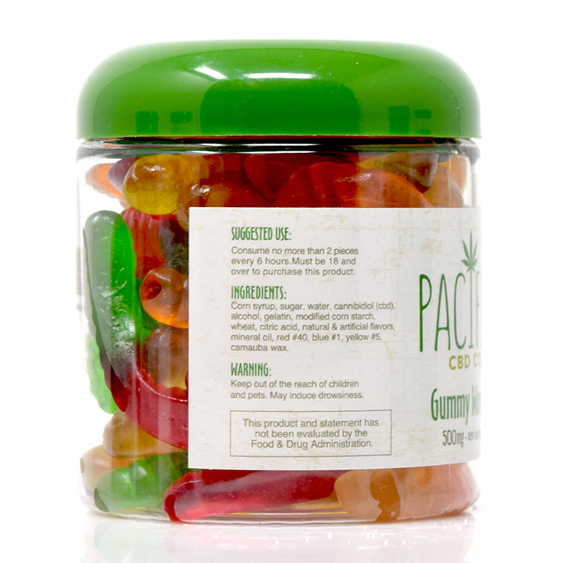 Pacific CBD Co - 500mg CBD Gummy Worms Pacific CBD Co - 500mg CBD Gummy Worms www-pacificcbdco-com.myshopify.com www.pacificcbdco.com