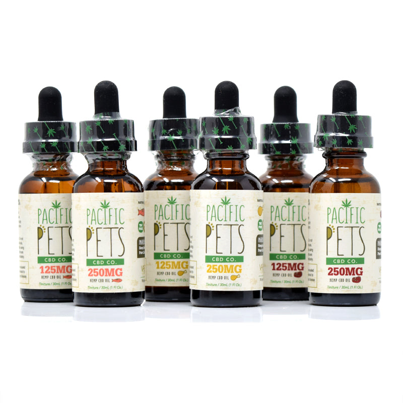 Pacific Pets CBD Co - 125mg CBD Oil Drops (Tinctures) Chicken, Beef, Salmon Flavors Pacific Pets CBD Co - 125mg CBD Oil Drops (Tinctures) Chicken, Beef, Salmon Flavors www-pacificcbdco-com.myshopify.com www.pacificcbdco.com