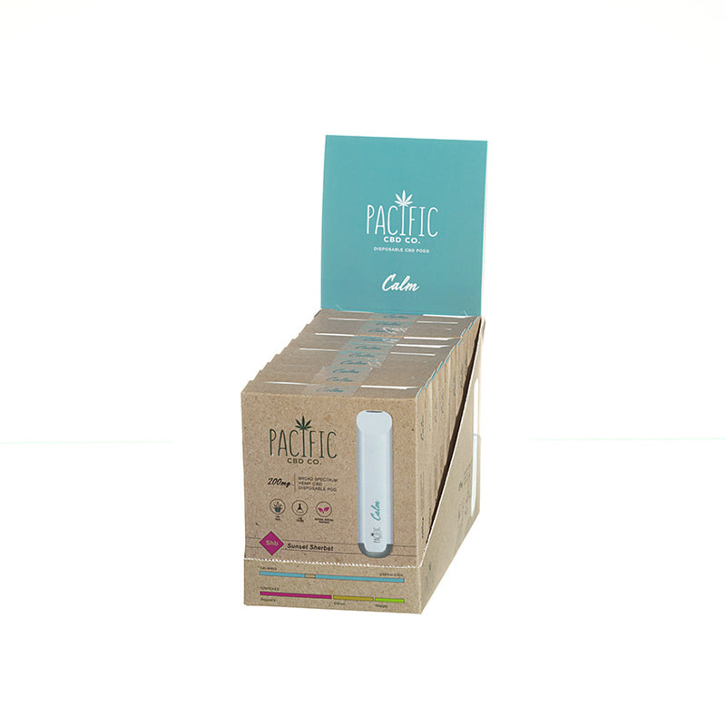 Pacific CBD Co Disposable Pod Calm 200mg Pacific CBD Co Disposable Pod Calm 200mg www-pacificcbdco-com.myshopify.com www.pacificcbdco.com