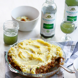 Vegan Shepherd's Pie – Happy St. Patrick's Day with GT's Kombucha