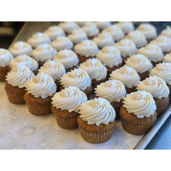 Vanilla Cupcake with Vanilla Buttercream *Local delivery & pick-up only*
