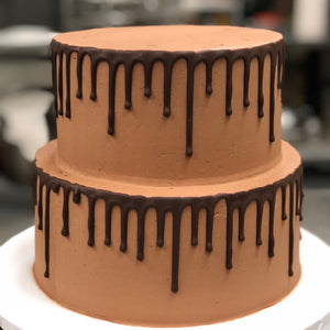Triple Chocolate Cake with Frosting Drip *Local delivery & pick-up only*