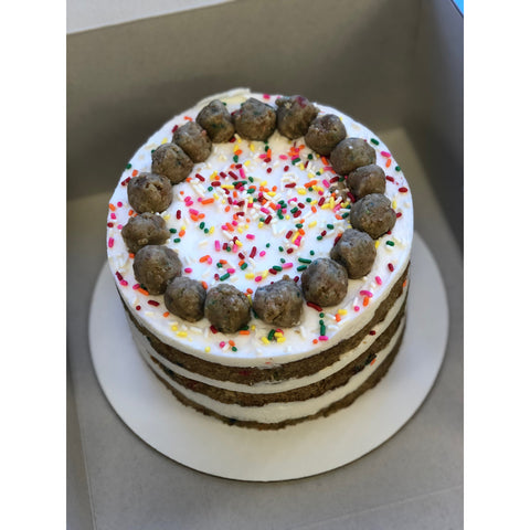 Funfetti Cake - 6-inch, 3-layered, naked