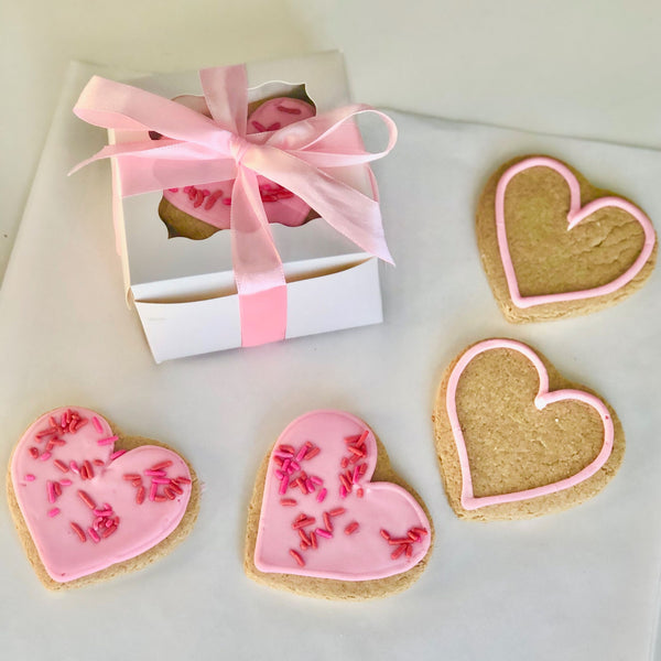 5 Frosted Sugar Cookies Gift Box
