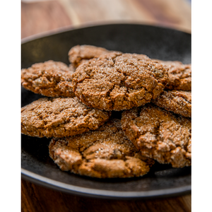Ginger Date Molasses Cookies