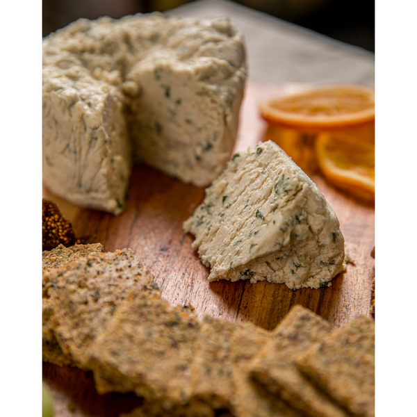 Vegan Goatless Cheese - Roasted Garlic, Onion, & Chive