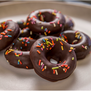 Chocolate-Covered Donuts