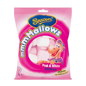 Beacon Marshmellows Pink and White 165G
