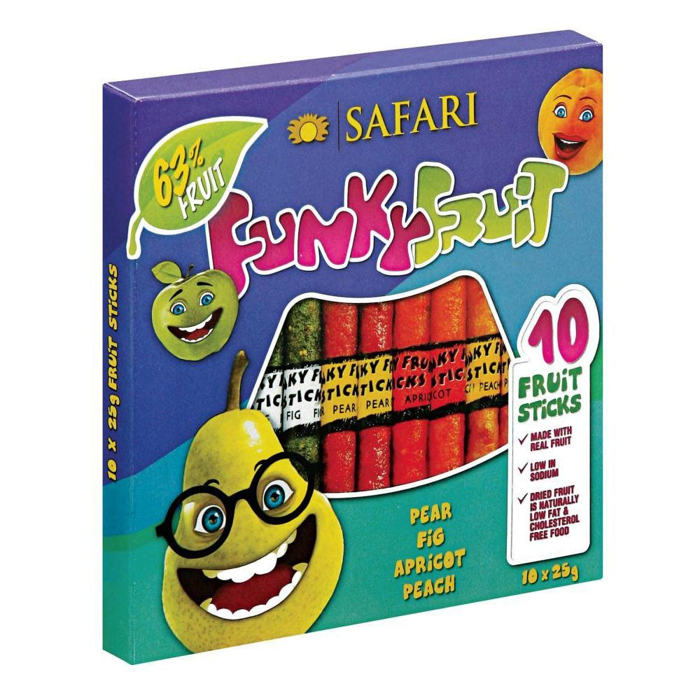 Safari Funky Fruit Box 250G