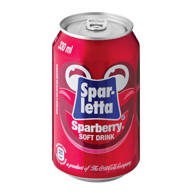Sparletta Sparberry 6X330ML new can