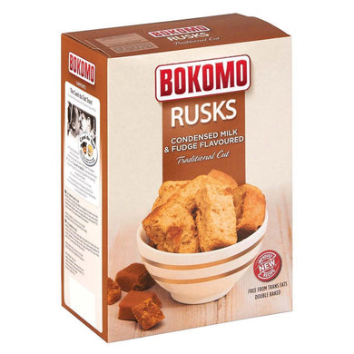 Bokomo Rusks Condensed Milk 450G