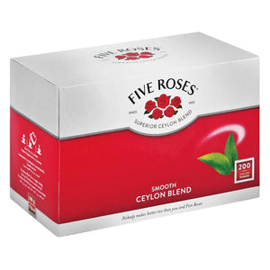 Five Roses Tea Tagless