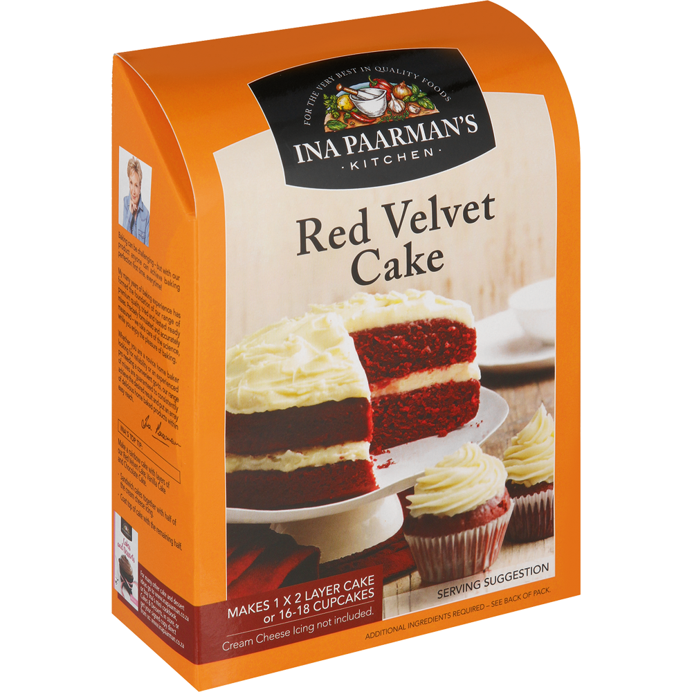 Ina Paarmans Red Velvet Cake