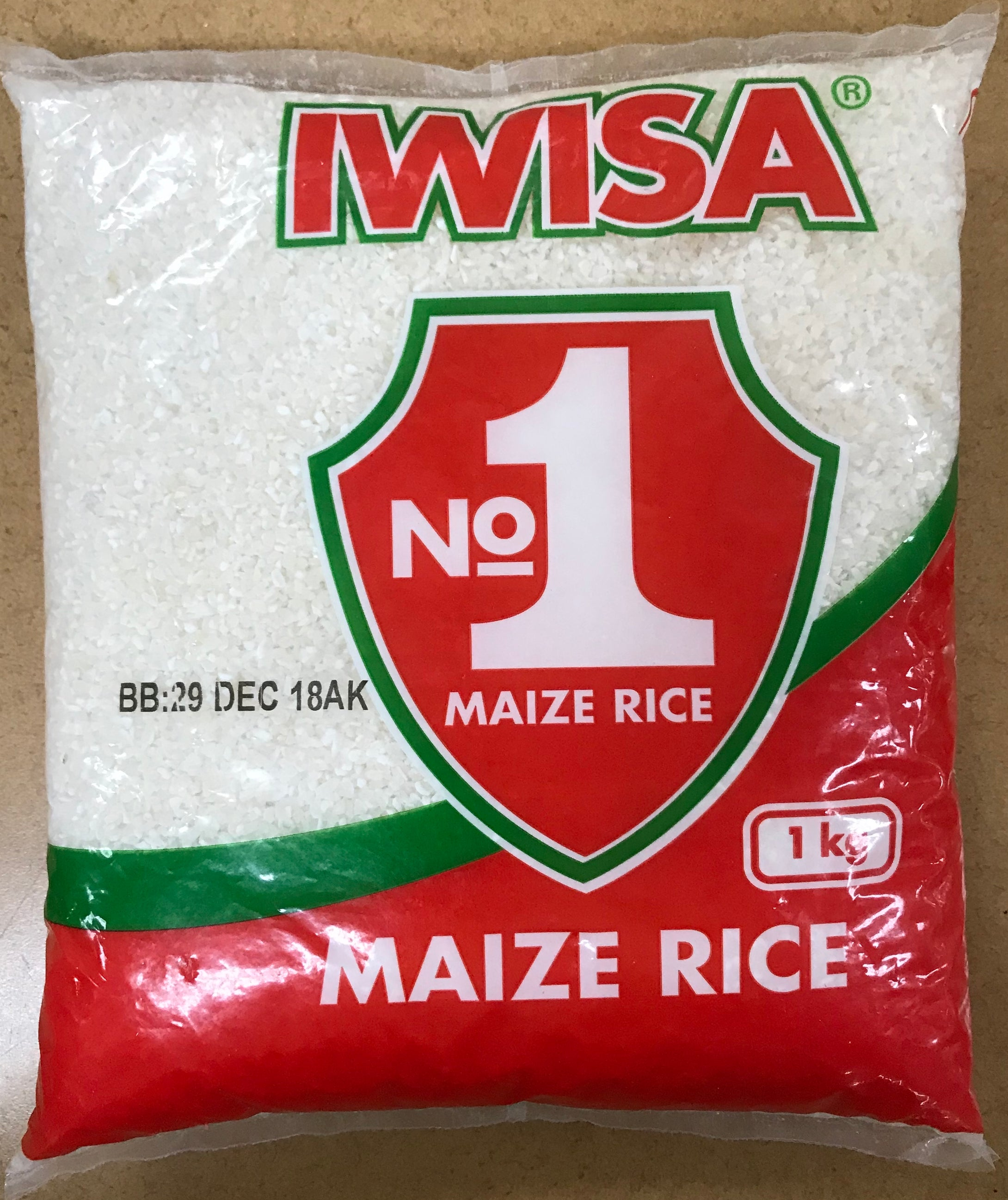 Iwisa Maize Rice 1KG