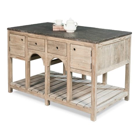 Sarreid - Haymarket Kitchen Island MODEL 40534