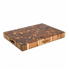 Chris & Chris – End Grain Acacia Reversible Cutting Board SKU JET7996