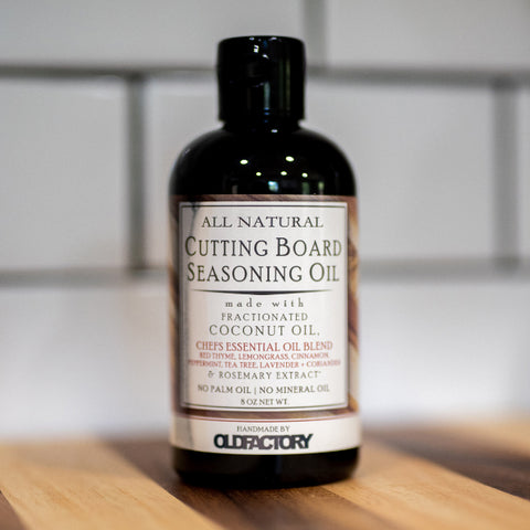 Old Factory – Cutting Board Oil – Chef's Essential Oil Blend - The Kitchen Island Store
