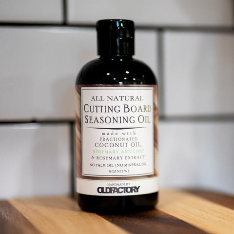 Old Factory – Cutting Board Oil – Rosemary & Lime - The Kitchen Island Store