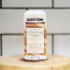 Old Factory – Cutting Board Wax Stick – Chef's Essential Oil Blend - The Kitchen Island Store