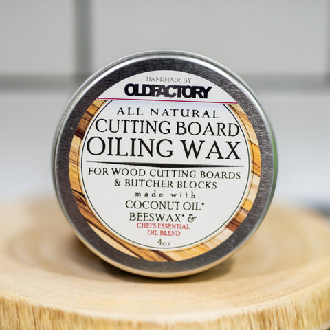 Old Factory – Cutting Board Wax Tin – Chef's Essential Oil Blend - The Kitchen Island Store