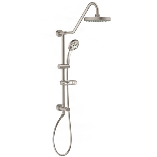 PULSE ShowerSpas Kauai III Brushed-Nickel Shower System