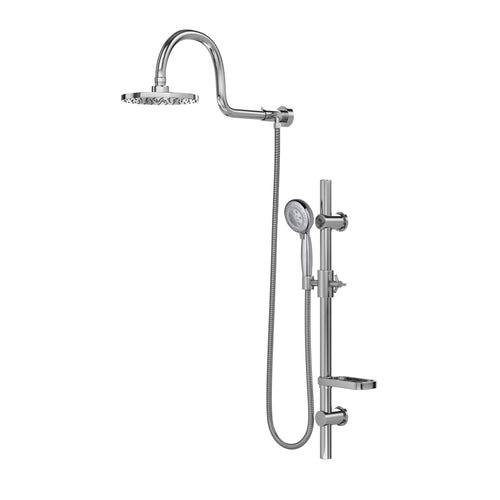 PULSE ShowerSpas AquaRain Chrome Shower System