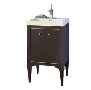 "Fairmont Designs 1511-V2118A Charlottesville 21"" Free Standing Single Bathroom Vanity with One Shelf in Vintage Black"