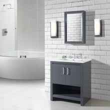 "Load image into Gallery viewer, Fairmont Designs 1518-V30 Studio One 30"" Vanity in Glossy Pewter"