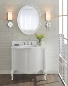 "Fairmont Designs 1532-V36 Belle Fleur 36"" Modern Vanity in Glossy White"