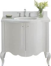 "Load image into Gallery viewer, Fairmont Designs 1532-V36 Belle Fleur 36"" Modern Vanity in Glossy White"