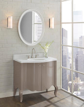 "Load image into Gallery viewer, Fairmont Designs 1534-V36 Belle Fleur 36"" Modern Vanity in Glossy Taupe"