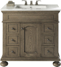 "Load image into Gallery viewer, Fairmont Designs 1535-V36 Oakhurst 36"" Vanity in Antique Grey"