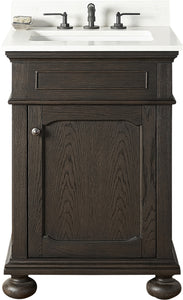 "Fairmont Designs 1536-V24 Oakhurst 24"" Vanity in Burnt Chocolate"