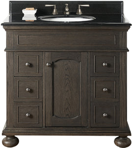 "Fairmont Designs 1536-V36 Oakhurst 36"" Vanity in Burnt Chocolate"
