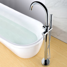 Load image into Gallery viewer, Pulse ShowerSpas Freestanding Tub Filler with Diverter in Chrome