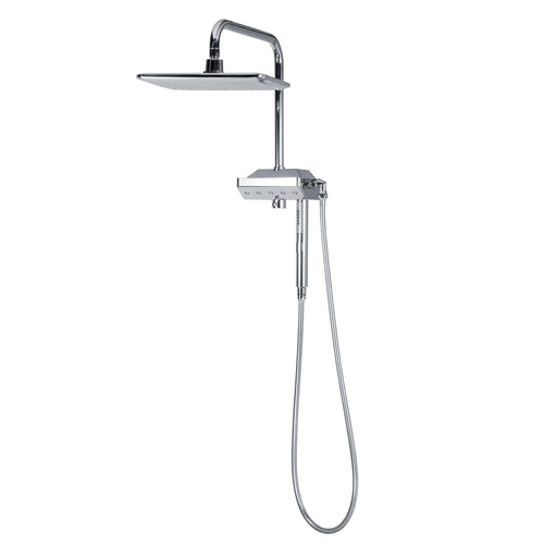 PULSE ShowerSpas AquaPower ShowerSpa Chrome Shower System