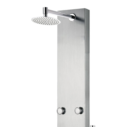 PULSE ShowerSpas Monterey Stainless Steel Brushed ShowerSpa