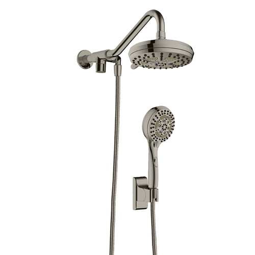 PULSE ShowerSpas Oasis Brushed-Nickel Shower System