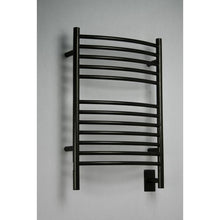Load image into Gallery viewer, Amba E Curved 12 Bar Towel Warmer, Oil Rubbed Bronze