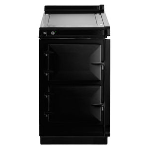 AGA Electric Hotcupboard with Warming Plate Top BLACK