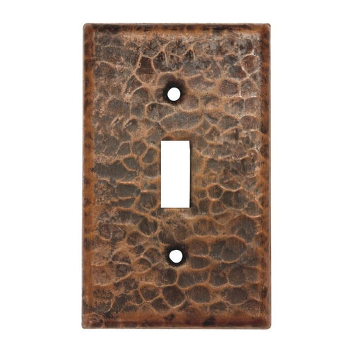 Copper Switchplate Single Toggle Switch Cover - Quantity 4