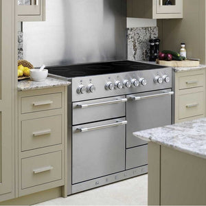 "48"" AGA Mercury Multiple Oven Induction Range MATTE BLACK"