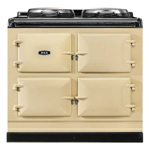 AGA Total Control Cast Iron 3-Oven Electric Range CREAM