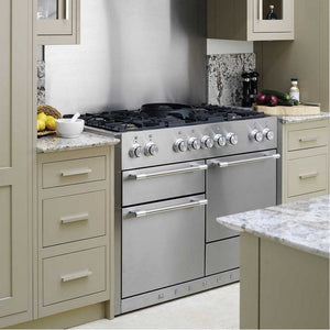 "48"" AGA Mercury Multiple Oven Dual Fuel Range BLACK"