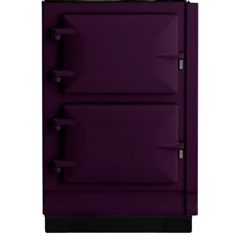 AGA Electric Hotcupboard with Induction Top AUBERGINE