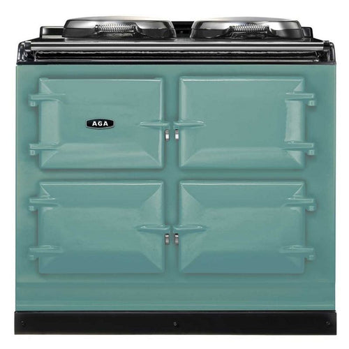 AGA Total Control Cast Iron 3-Oven Electric Range PISTACHIO